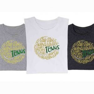 messy-tennis T-shirts